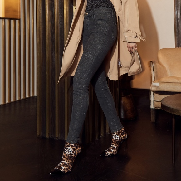 New J BRAND 620 Mid-Rise Super Skinny In Faded